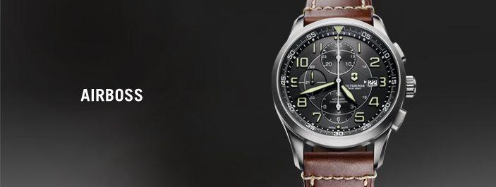 Séria Airboss bola navrhnutá do sveta letectva, kde je presné načasovanie všetkým. Airboss hodinky majú ostré a čisté línie. Ich vzhľad kladie dôraz na čitateľnosť a funkčnosť. Airboss hodinky znamenajú návrat k základným hodnotám hodinárskeho sveta.Vybrané modely sú osadené mechanickým automatickým strojčekom. Airboss sú navrhnuté podávať skutočné výkony.
