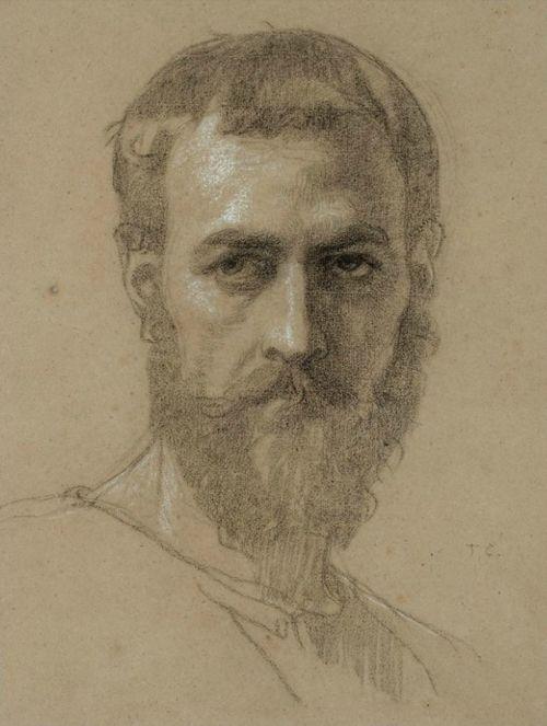 Thomas Couture, Portrait of Anatole Dauvergne, c1847