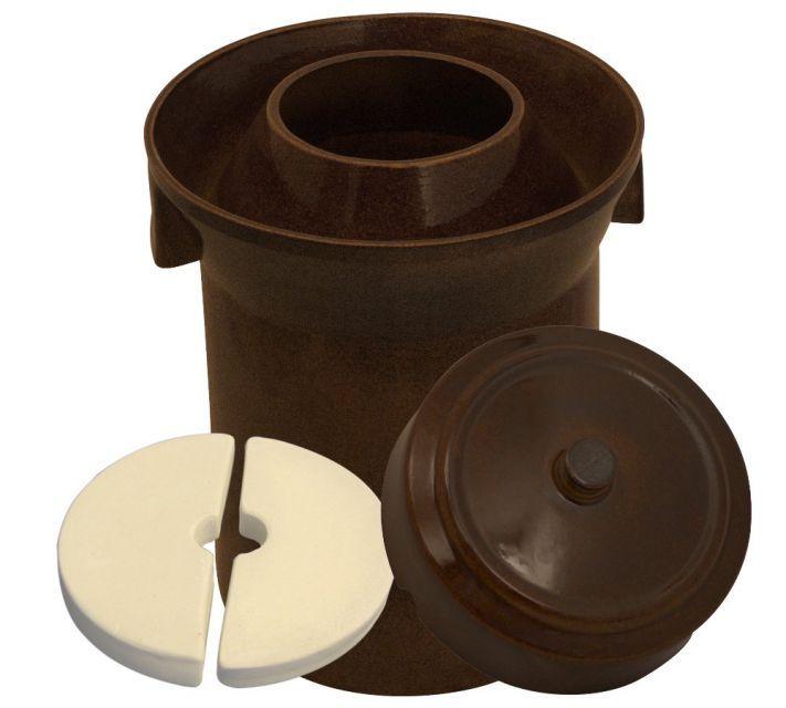 Gärtopf Form 1, 10,0 Liter