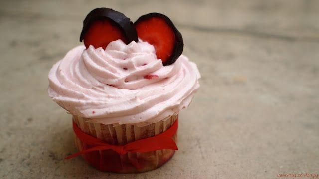Laskominy od Maryny: Jahodové cupcakes
