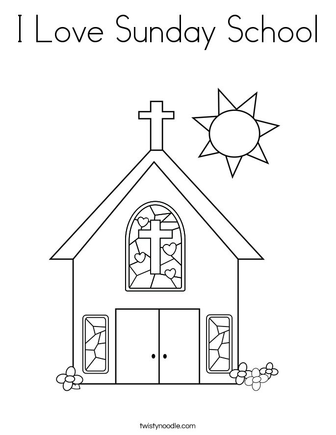 colouring pages for sunday school google search