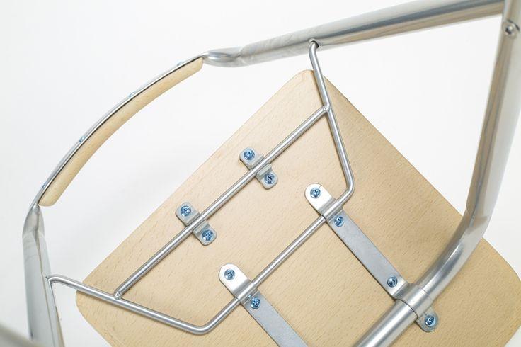 ECDAILY de acero plegable silla de la barra silla minimalista barra de bar taburete pesca respaldo silla sillas plegables ENVÍO GRATIS