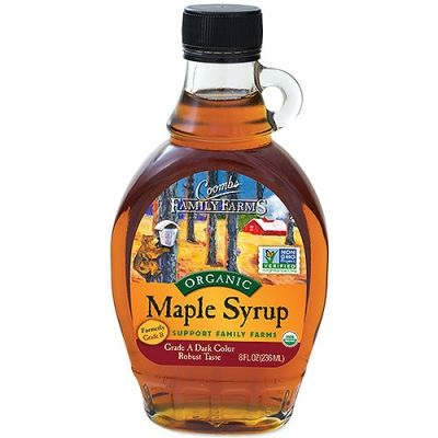 Coombs Family Farms organic maple syrup is thick, sweet and richly delicious. For seven generations, the Coombs family has farmed and harvested without pesticides and chemicals, making organic maple healthier for the forest, healthier for the environment, and healthier for consumers