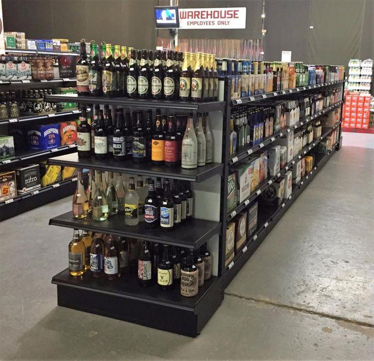 Gondola Shelving | Retail Gondola Shelves - Handy Store Fixtures