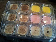 yaourts allégés à la multi délice - Créations de filles