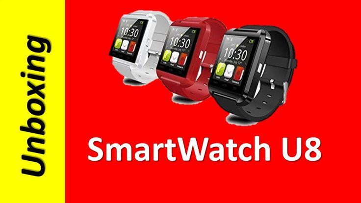 Unboxing SmartWatch U8 Bluetooth Tactil 2016