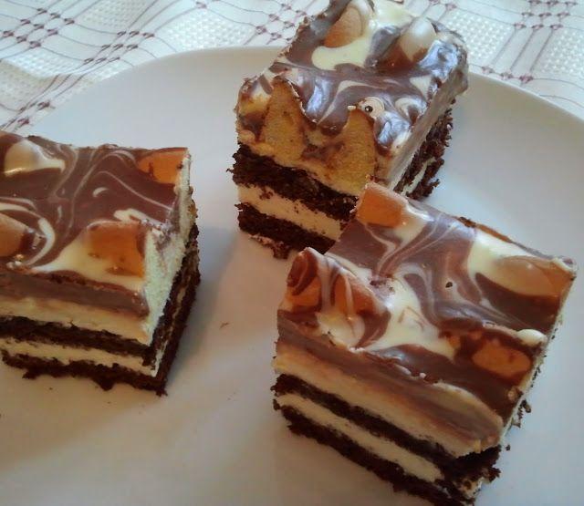 """domowa cukierenka: ciasto """"góra lodowa"""": Cake Recipe, Domowa Cukierenka, Desserts Polish, Ciasto Góra, Góra Lodowa, Polish Desserts, Baking, Domowa Kuchnia, Culinary"""