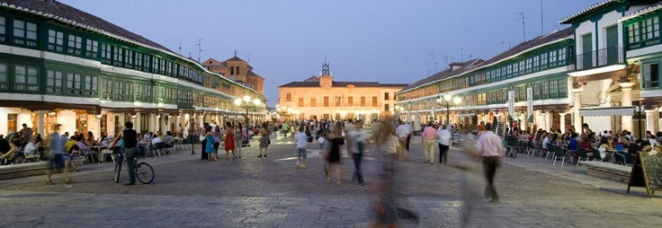 Plaza Mayor de Almagro. Ciudad Real