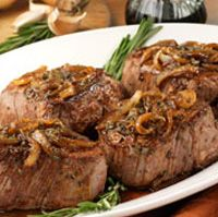 Beef Filets in Balsamic Sauce