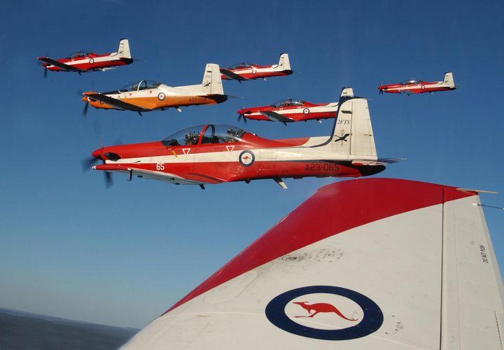 RAAF Pilatus PC-9 trainers of 2FTS