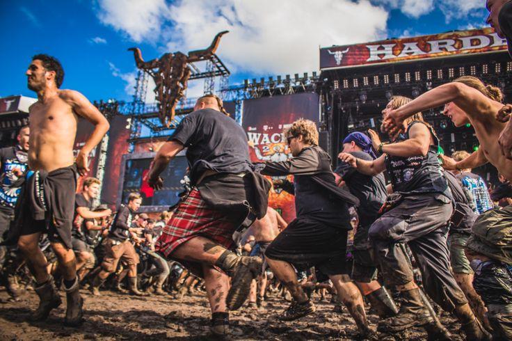 Neka vas ove fotografije sa muzičkog festivala u Nemačkoj danas zakucaju - VICE