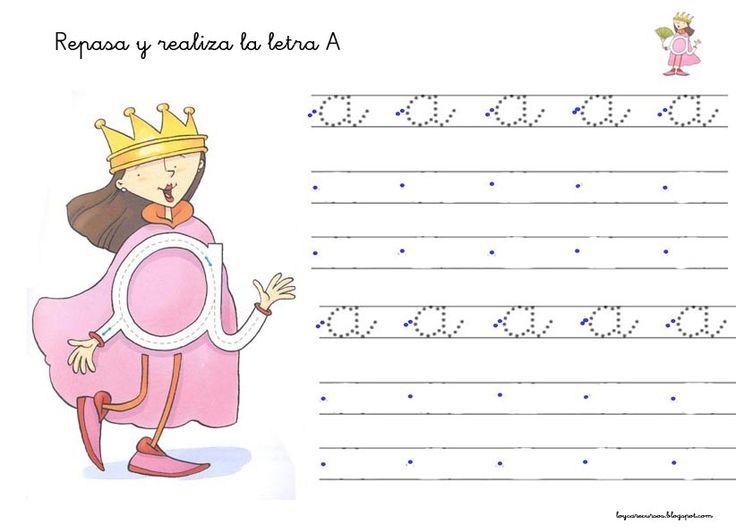 RECURSOS DE EDUCACIÓN INFANTIL: FICHAS DE LA REINA A