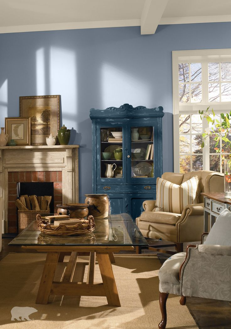 Bring A Classic Feel To Your Home With This Stunning Color Combination Of BEHR Paint