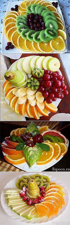Красивая нарезка фруктов: идеи с фото для вдохновения!