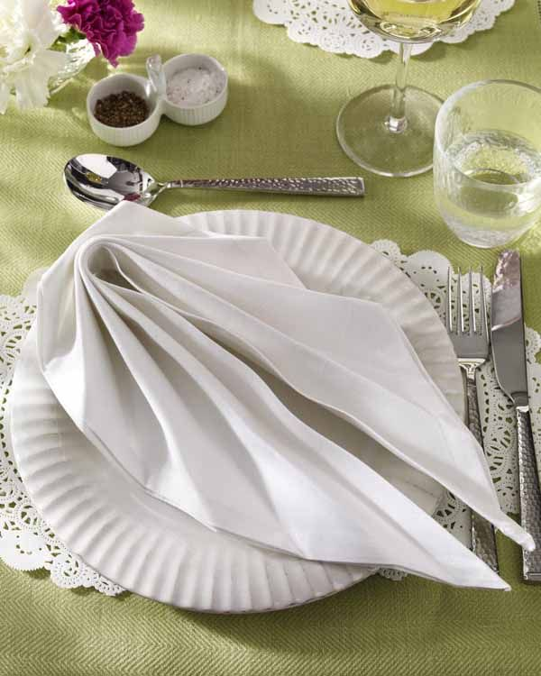 servietten falten step by step napkin folding. Black Bedroom Furniture Sets. Home Design Ideas