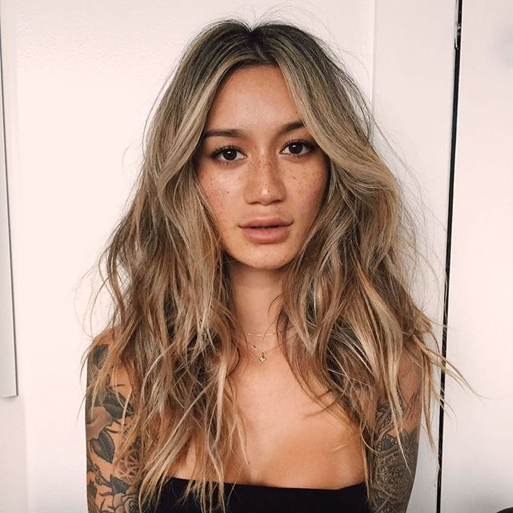 "21.6k Likes, 87 Comments - Jenah Yamamoto (@gypsyone) on Instagram: ""Not at the beach anymore but my hair is ⚡️ @alyssahair_ @howardreyeshair #IGKhair"""