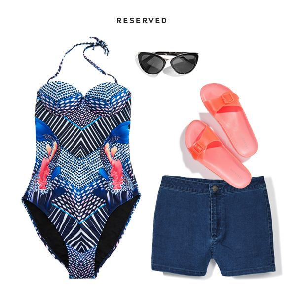 Reserved 16' #summer#swimsuit#shorts