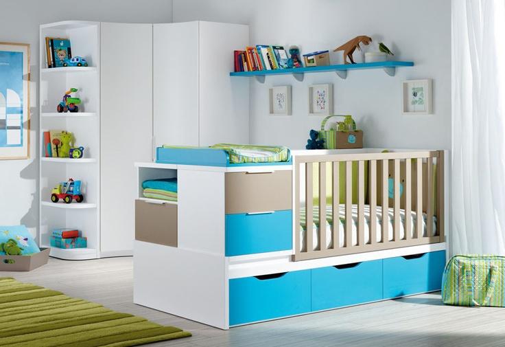 great storage idea - baby bed (boys) B1 Limba