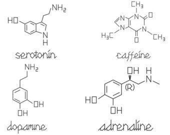 best 25 dopamine tattoo ideas on pinterest serotonin tattoo molecule tattoo and chemical tattoo. Black Bedroom Furniture Sets. Home Design Ideas