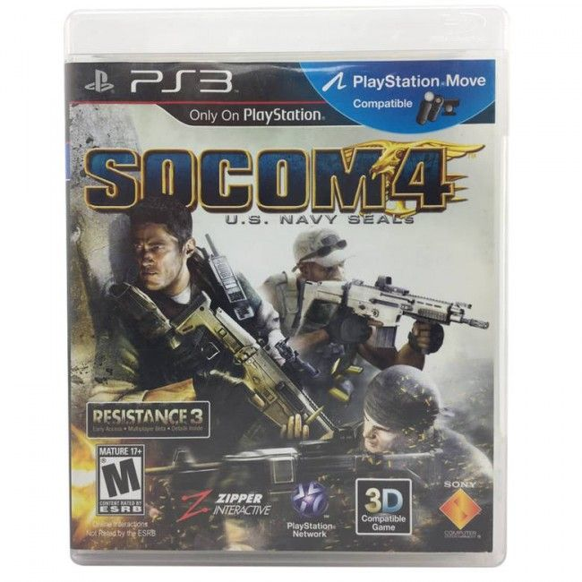 Juego PS3 Socom 4 - Juegos de Consola - TV, Consolas y Juegos - Tecnología - Sensacional