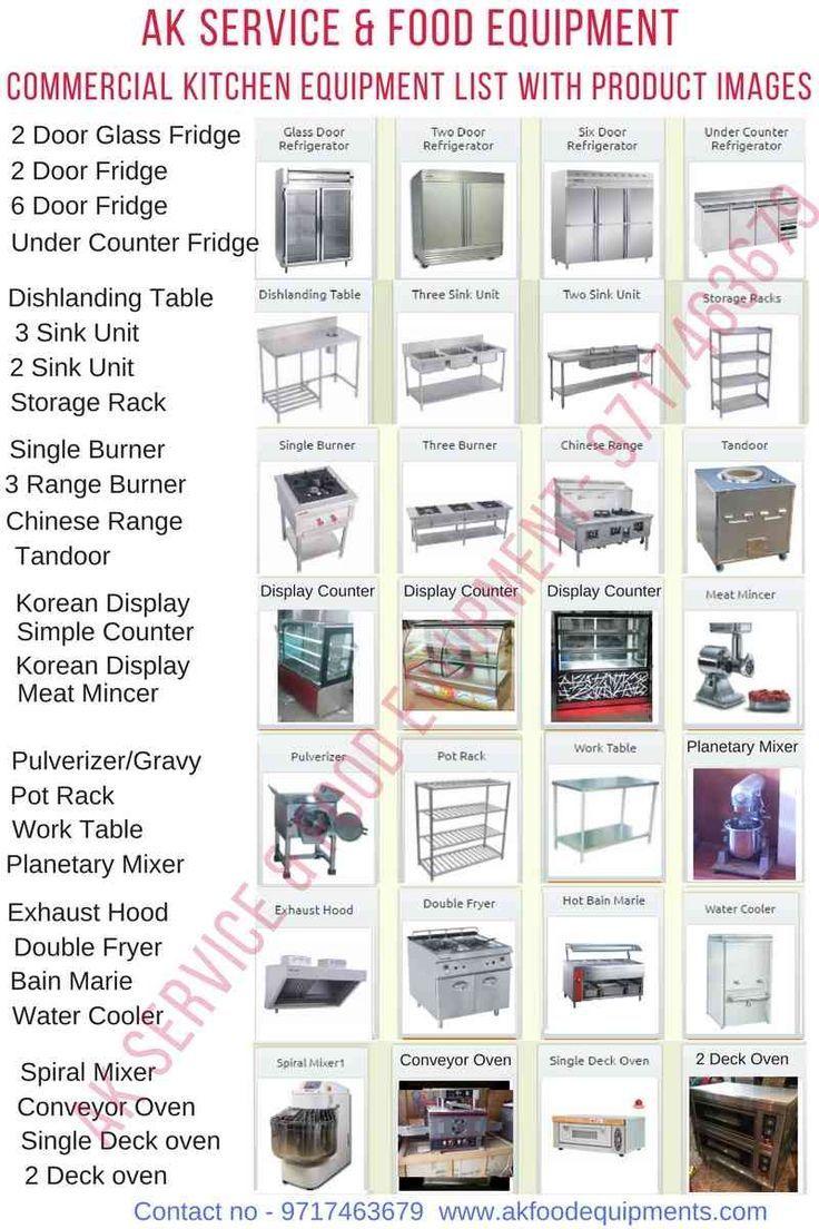 Small Commercial Kitchen Equipment Kitchen Equipment List