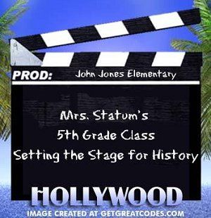 movie star themed classroom | Star of the Week Bulletin Board Banner