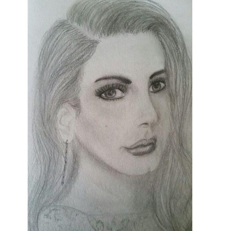 Lana study in graphite