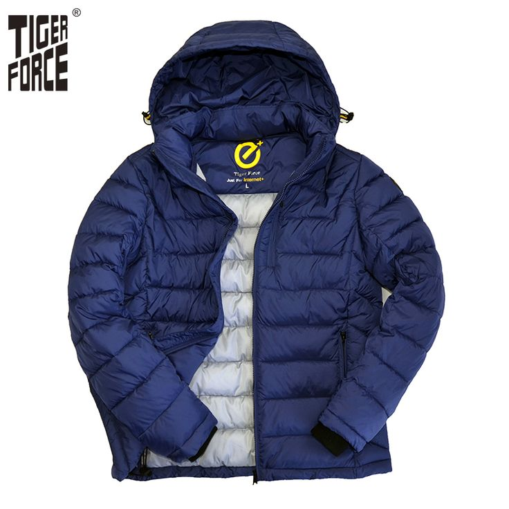 Find More Parkas Information about TIGER FORCE 2016 Men Fashion Cotton Padded…