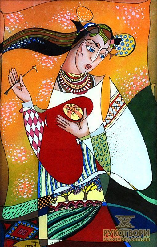 Ukrainian Glass Painting art #pysanky