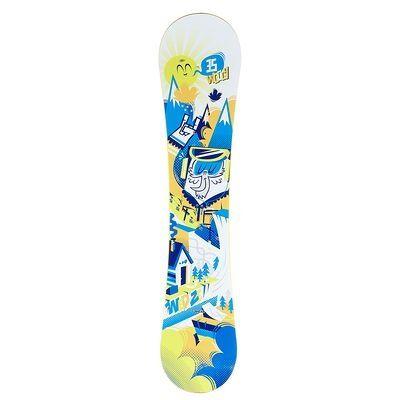 Ce #Snowboard #Enfant #WoogyWed'ze est conçu pour faciliter l'apprentissage du #snowboardeur #LeGuide