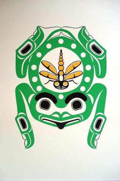 northwest native totem frog - Google Search | Family Totem ...
