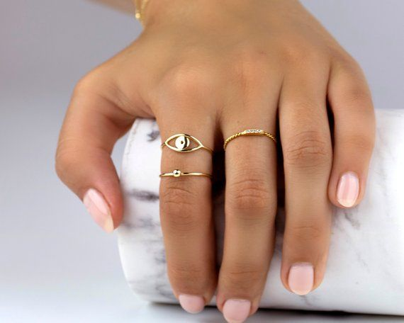 US size 9.5 women/'s ring gold ring silver ring simple ring minimalist ring gold rings for women dainty Copper wire bead ring