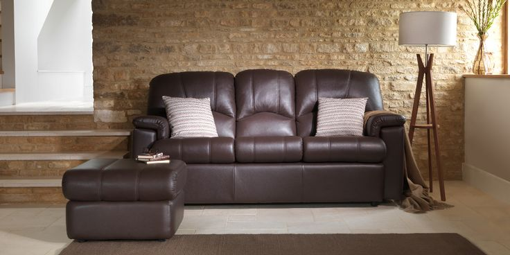 Chloe 3 Seater Sofa Capri Chocolate by G Plan. Available from Rodgers of York #Sofa #Home