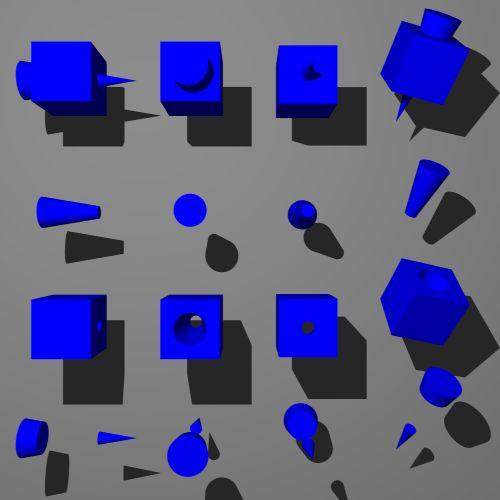cube and cone intersection - Поиск в Google