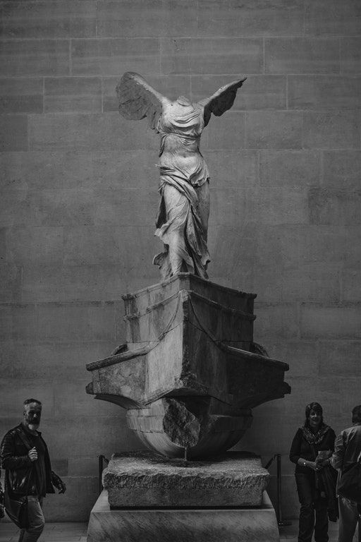 Winged Victory of Samothrace [3395x5092] [OC] : ArtefactPorn