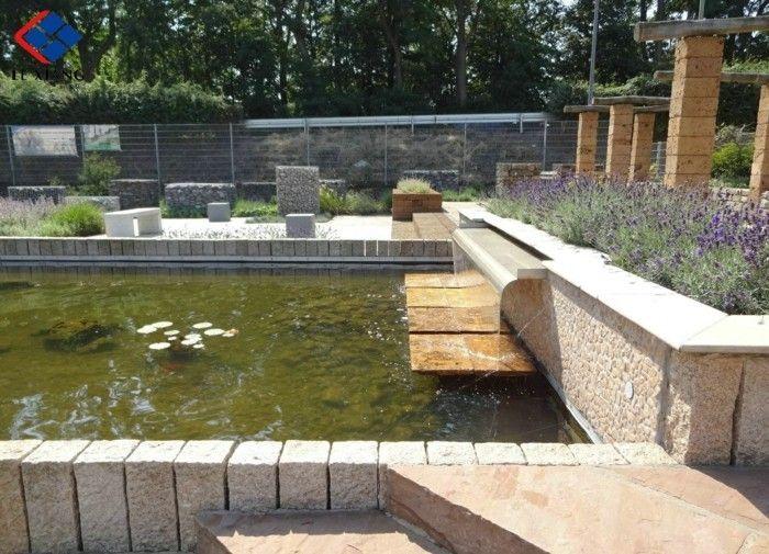 Mit Palisaden Eine Moderne Gartengestaltung Genießen