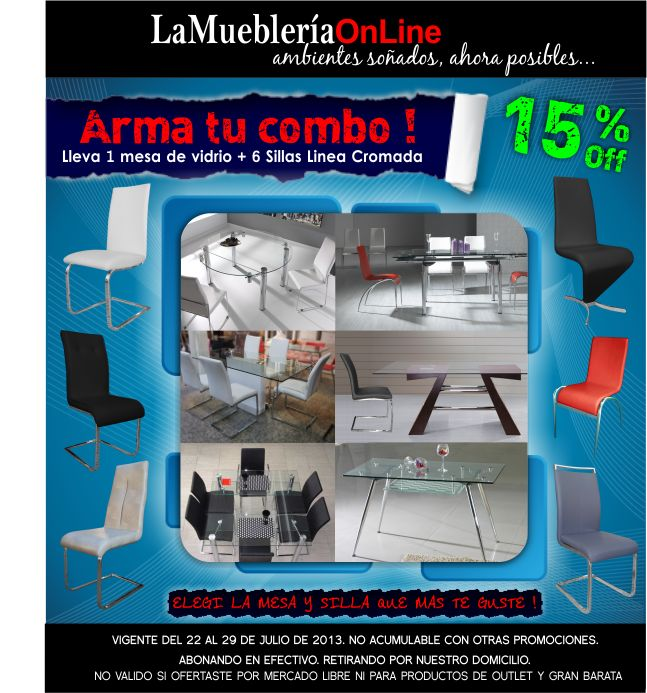 Pin de la muebleria online en promos y ultimas novedades for Mueblerias on line