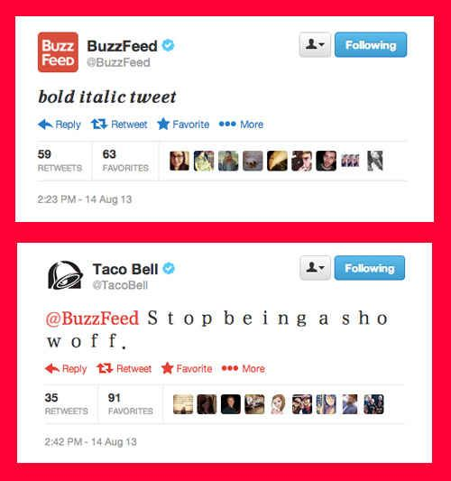 And when Taco Bell fired shots at BuzzFeed. | 14 Times Brands Showed Their Sassy Side On Twitter