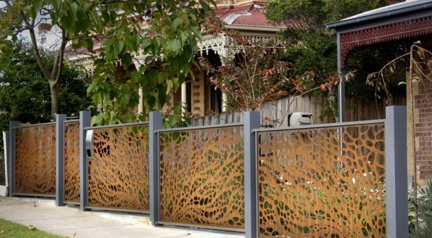 Metal Fence Melbourne - Steel Fencing Panels Melbourne | PLR Design