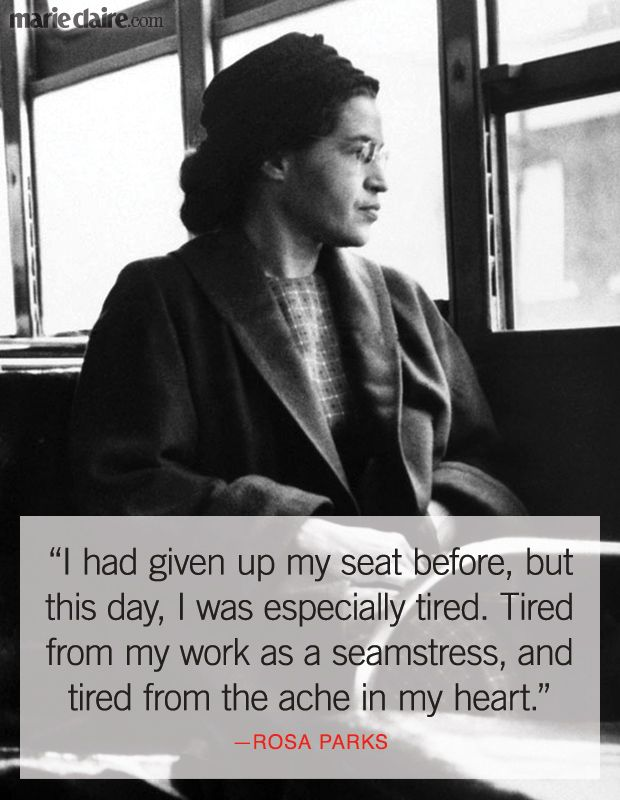 Rosa Parks's Wisest Words