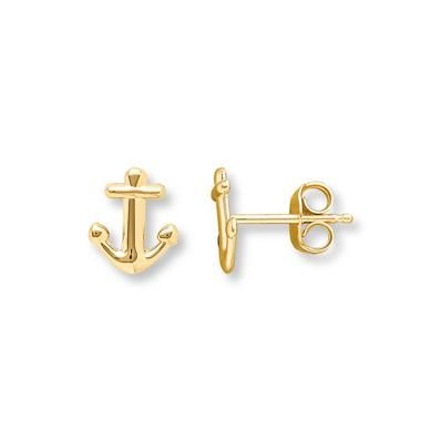 You don't have to set sail to enjoy these petite gold earrings – they are perfect for everyday!