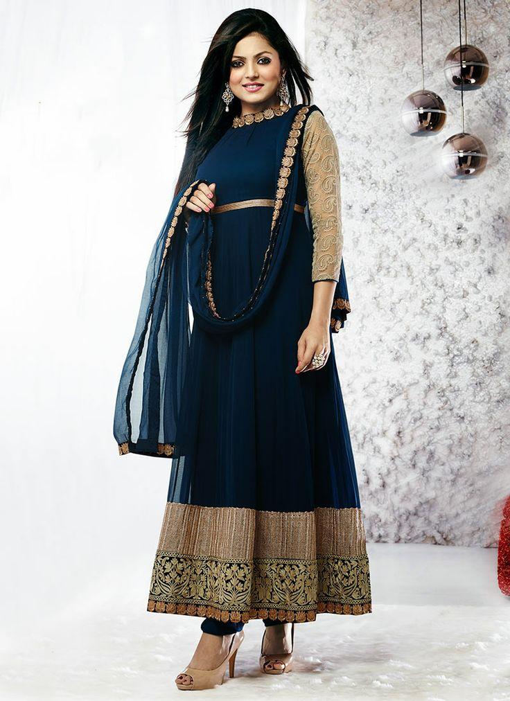 Splendid #Madhubala Ankle Length #Anarkali suit