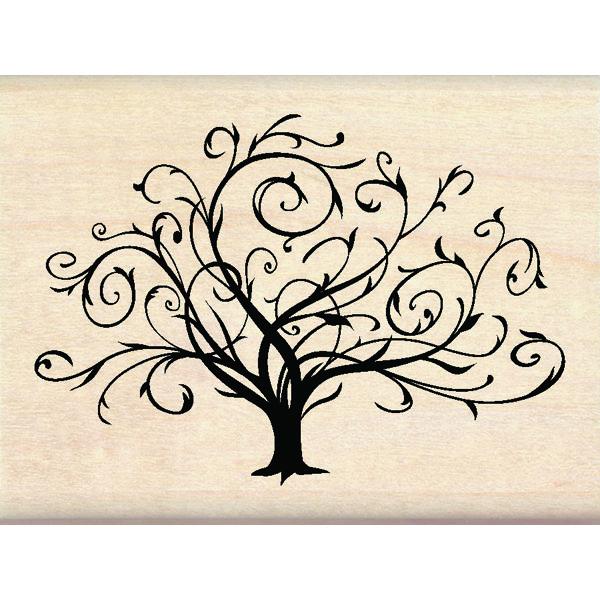 Inkadinkado® | Flourished Fall Tree