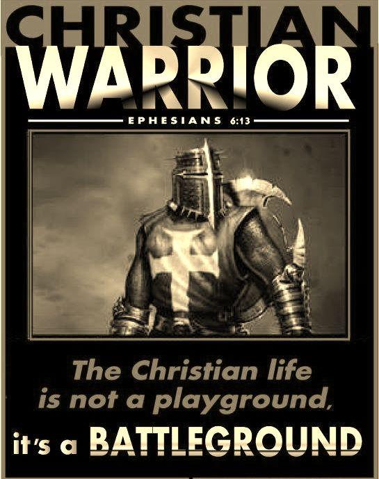 Christian Warrior is a Warrior that fearlessly share the Gospel to the world without shame.
