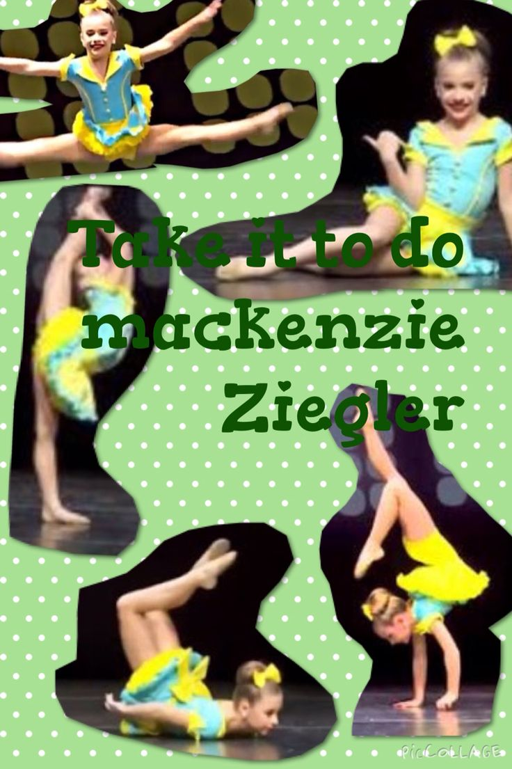 "Mackenzie Ziegler ""take it to go"" edit"