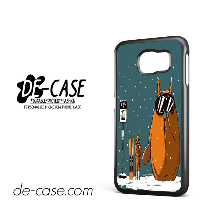 My Neighbor Totoro Wait Snow Want Sky DEAL-7553 Samsung Phonecase Cover For Samsung Galaxy S6 / S6 Edge / S6 Edge Plus