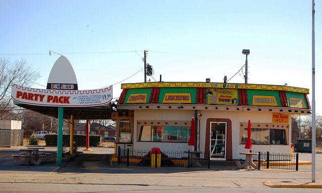 Don Juan's Romantic Mexican Food in Grand Prairie, Texas.