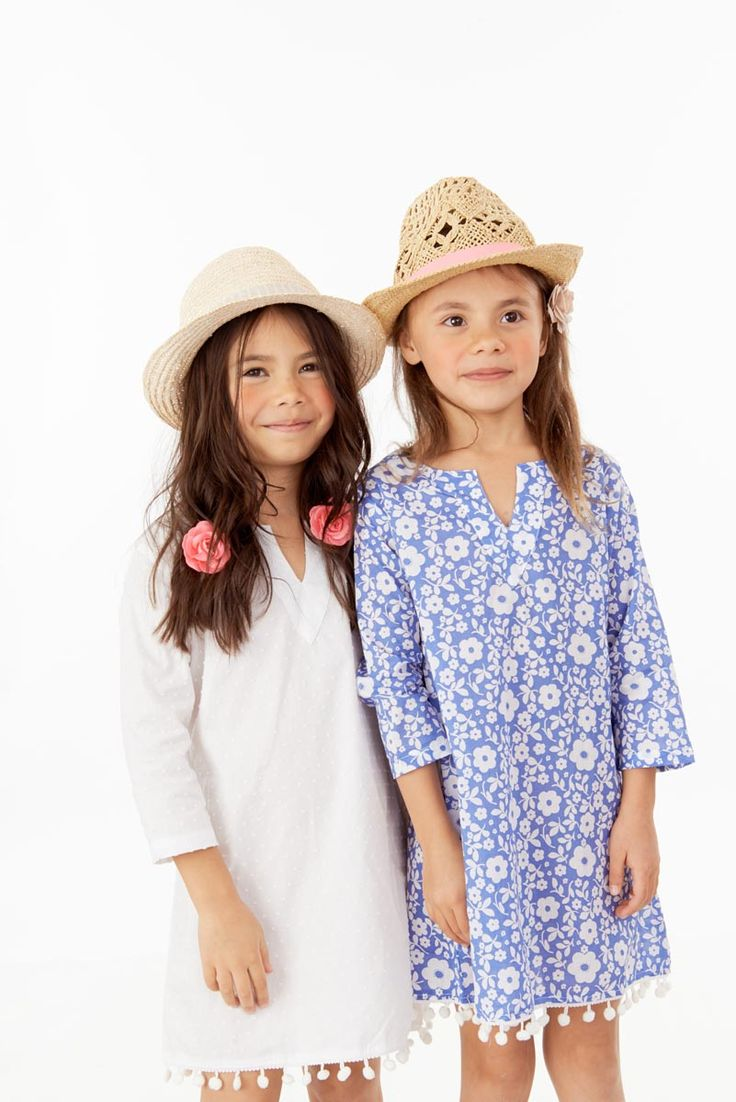 Sabina Swims Kids resort wear collection, in 100% cotton, Vneck Kaftan for kids. Available for kids up to 9 yrs old, www.sabinaswims.com free shipping!