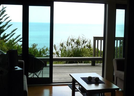 Simply the Best Ocean Views from Every Room! in Whale Bay, Raglan | Bookabach
