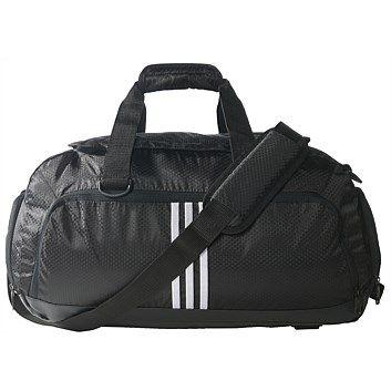 adidas 3S Performance Teambag  Black/White Small